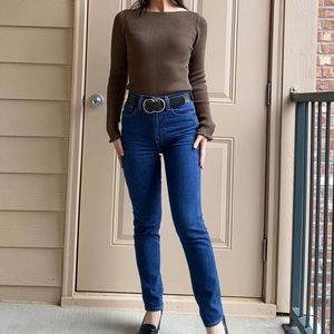 New Ann Taylor shimmer boatneck perfect pullover